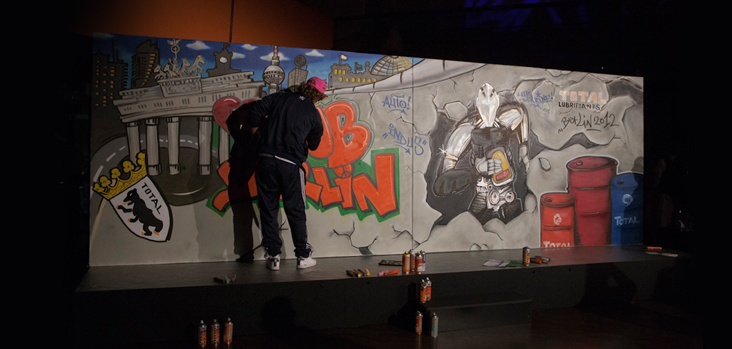 Show graffiti for your event and exhibition