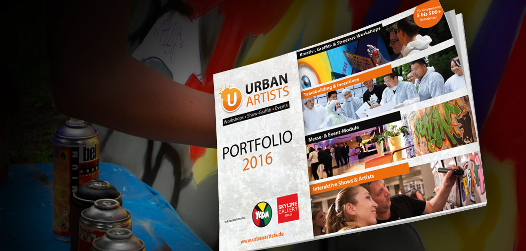 Urban Artists Portfolio 2018 | Graffiti und Streetart Workshops und Event Lösungen